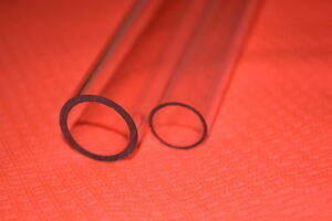 Acrylique Transparent Perspex Plastique Tube Barre Creux 5mm 6mm 8mm 10mm 12mm