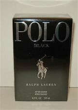Ralph Lauren ~ Polo Black After Shave  4.2 oz/125 ml Brand New in Box Sealed