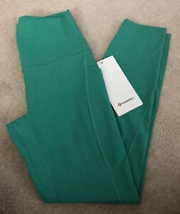 """NWT Lululemon Size 6 Align HR Pant 25"""" *Pockets MLGR Maldives Green"""