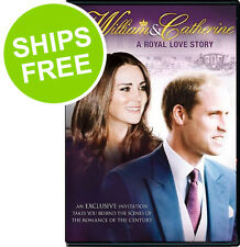 Prince William & Catherine A Royal Love Story (DVD, 2013) NEW, Sealed