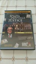 Court TV  ~  Dominick Dunne's Power Privilege and Justice  ~  2 DVD set RARE OOP