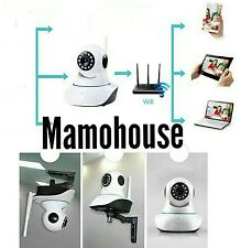 HD 720P TELECAMERA IP CAMERA HD IR WIRELESS ONVIF MOTORIZZATA WIFI RETE INTERNET