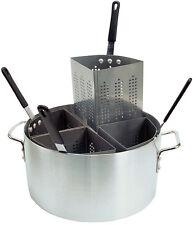 Update Apsa-4 Pasta Cooker Set 20qt Aluminum Pot 4 Inserts