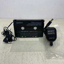 Sony Walkman Connecting Pack Cpa-2 & Dcc-50 Car Charger Cassette to Cd Mp3