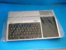 TI-99/4A COMPLETE BOXED VINTAGE BLACK HOME COMPUTER, MANUALS  @@ TESTED @@  A
