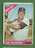 1966 TOPPS #70 CARL YASTRZEMSKI HALL OF FAME BOSTON RED SOX FAIR