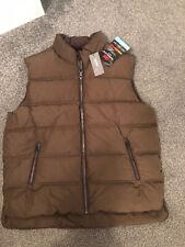 M&S Para Hombre Chaleco Calentador De Cuerpo Color Marrón Bnwt Talla Xl Rrp £ 69 stormwear