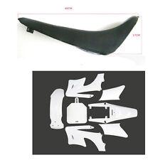 Black Foam Seat+ White Plastic for APOLLO ORION DIRT BIKE 125/250CC Thumpstar AU