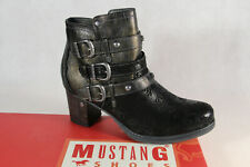 Mustang Ankle Boots Lace up Boots Black 1286 New
