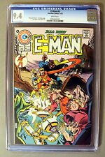 E-MAN #6 First ROG-2000 JOHN BYRNE Begins 1975 Charlton Disney spoof CGC NM 9.4