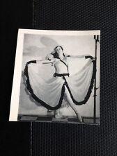 N1-2 Ephemera 1950 Picture Tv Bbc Alycia Markova Ballet Dancer