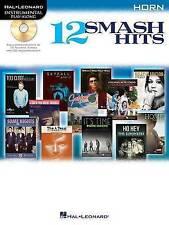 NEW 12 Smash Hits: for Horn (Hal Leonard Instrumental Play-Along)