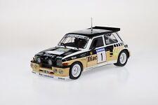 1/18 solido renault 5 maxi rallye du var 1986 f.chatriot n1 livraison fin aout