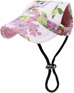 Pawaboo Dog Baseball Cap Outdoor Sun Hat Protection Visor for Puppy Small Dogs