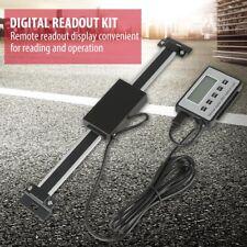 Neu 0-150mm Präzision LCD Digitalanzeige Fräsen Drehmaschinen Lineare Skalierung