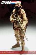 "Sideshow 1/6 Scale 12"" GI Joe Cobra Sniper The Enemy Action Figure 100078"