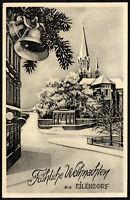 AK 1951 Aachen - Fröhliche Weihnachten aus EILENDORF - Josef Müllejans