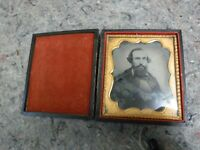 Ambrotype Photo of Man With Beard in Case