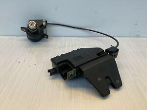 BMW E90 E91 E92 E93 - Boot Trunk Tailgate Actuator Latch with Cable & Lock