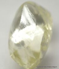 0.96 CARAT CLEAN ROUGH DIAMOND OUT FROM A DIAMOND MINE. NATURAL DIAMOND MACKLE