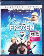 Disney Frozen Collectors Edition Blu-ray + DVD + Digital...
