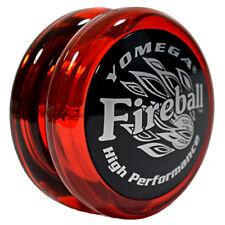 NEW Yomega High Performance YoYos YoYo Yo-Yo Yo - FIREBALL RED - Player Level