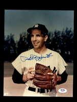 Phil Rizzuto PSA DNA Coa Hand Signed 8x10 Photo Autograph
