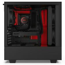 NZXT H510 Matte Black / Red Mid Tower Case