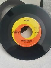"Ernie Fields Capitol 5326 ""CHLOE"" (GREAT ROCK N ROLL) 45 RECORD"