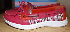 SCRUBS RX WOMENS BRAND NEW SLIPON  BOAT SHOES COMFY SIZE 9.5M FUSCHIA (PINK)