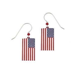 Sienna Sky Flag Earrings 907