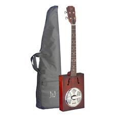 More details for j.n guitars cask series cigar box acoustic guitar - puncheon
