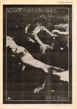 Siouxsie & Banshees Scream UK LP advert 1978 #2 EFGH
