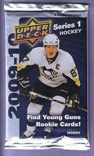 2009 -10 Upper Deck Hockey Series 1 Hobby Pack Fresh from Box!