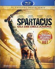 SPARTACUS Gli Dei Dell'Arena Cof. 3 Blu Ray con  Lucy Lawless - BLU-RAY NUOVO