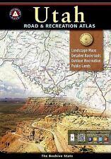 National Geographic Benchmark Utah UT Road & Recreation Atlas Map BE0BENUTAT