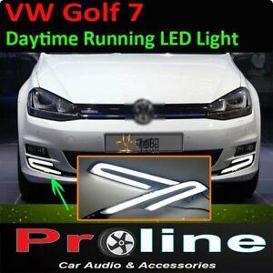 Volkswagen Golf 7 DRL Daytime Day time running LED light fog light accessories