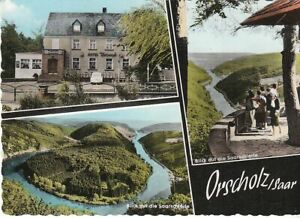Orscholz/Saarschleife mit Hotel Berend gl1964 C6804