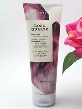 Bath and Body works ROSE QUARTZ Ultra Shea Body CREAM lotion Moisturizer 8 oz