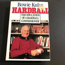 Bowie Kuhn Signed Book Auto Hardball The Education Of A Baseball Comissioner JSA