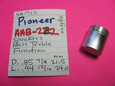 pioneer aab-222 bass treble funktion lautsprecher knauf sa-710 sa-610 sa-510 sa-410
