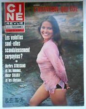 ►CINE REVUE 27/1972-ORNELLA MUTI-BARBRA STREISAND-SHELLEY WINTERS-OLIVER REED...