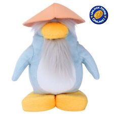 "Sensei Master Club Penguin 6.5"" Plush Soft Toy w/ Coin Code Disney 