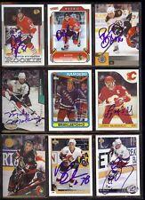 PAVOL DEMITRA Ottawa Senators *DECEASED* SIGNED / AUTOGRAPH 1993-94 Leaf Card
