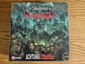 Shadows Over Normandie Achtung Chthulu Devil Pig Board Game - NEW