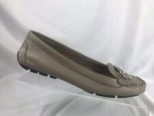 Lauren Ralph Women's Flats Loafers Cadence Tan Driving Shoes Moccasins Size 6.5B