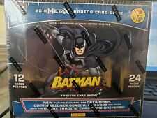 Meta X Batman Booster Box 24 Packs Panini Trading Card Game