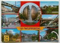 Wuppertal 8 Views 1995 Postcard (P299)