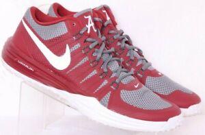 Nike 654283-060 Lunarlon Alabama Red Running Sneaker Shoes Men's US 10.5