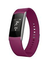 Wiko Wimate Smartband Purple Activity Track Cardio notifiche